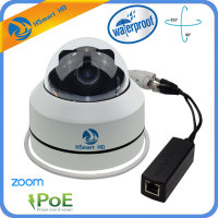 Mini PTZ Dome Camera IP 1080P Full HD Onvif 3X Zoom P2P H 264 30m IR