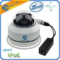 Mini PTZ Dome Camera IP 1080P Full HD Onvif 3X Zoom P2P H 264 30m IR