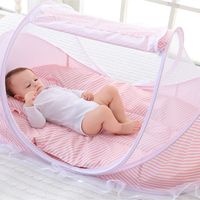 0 3Y Baby Mosquito Net Newborn Babies Bed Cot Ger Type Mosquito Netting for Children Folding Portable Tent Kid Room Decor Canopy