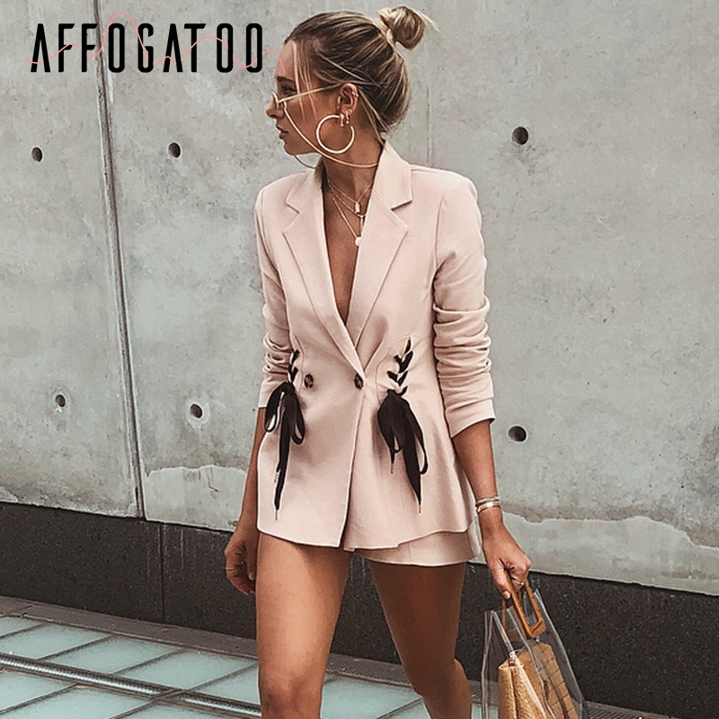Жакет со шнуровкой | Aliexpress