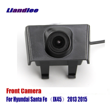 цена на Liandlee AUTO CAM Car Front View Camera Logo Embedded For Hyundai Santa Fe IX45 2013 2015 ( Not Reverse Rear Parking Camera )