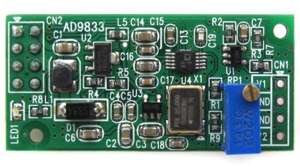 Модуль AD9833, генератор сигналов DDS, Программируемая частота, регулируемая амплитуда сигнала