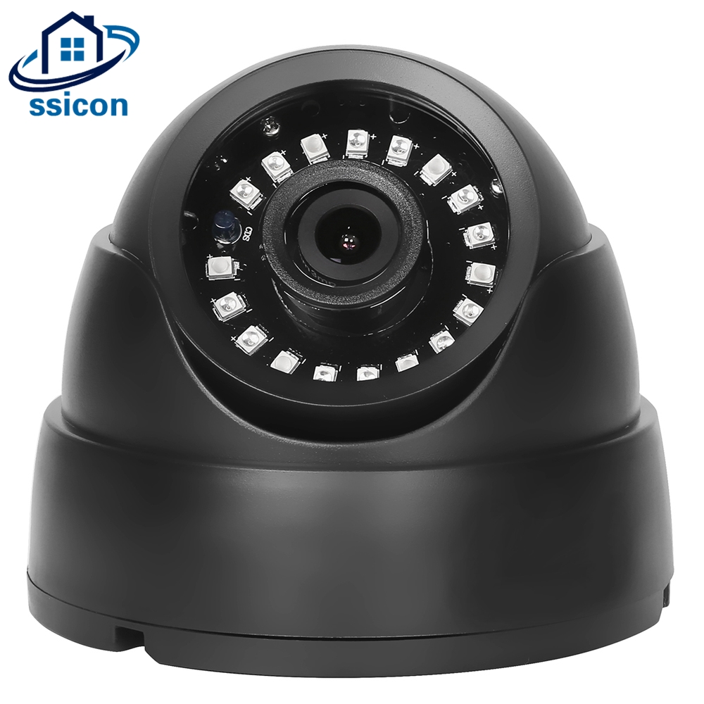 SSICON Home Dome HD Security Camera 1.3MP 2.0MP 24Pcs IR Leds 3.6mm Lens AHD Surveillance CCTV Camera 20M Night Vision 4 in 1 ir high speed dome camera ahd tvi cvi cvbs 1080p output ir night vision 150m ptz dome camera with wiper