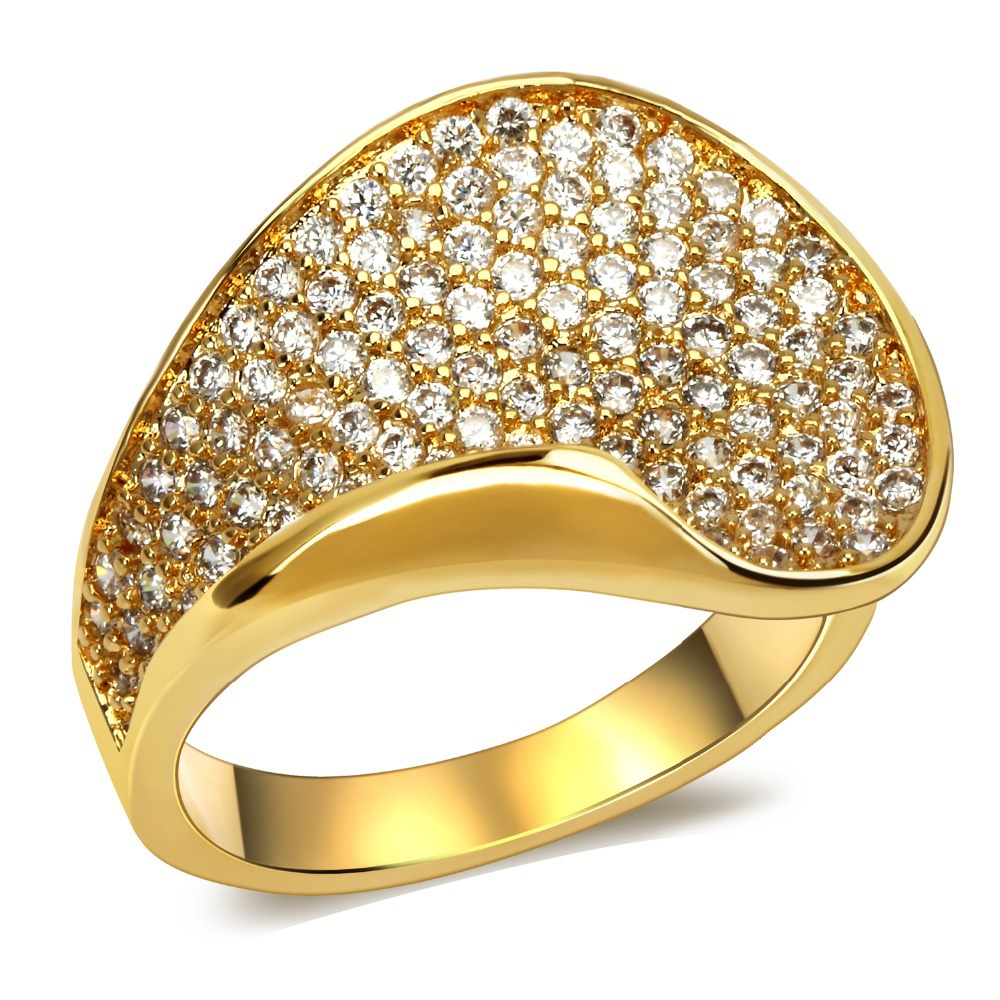 Prong Setting Rings With Cubic Zircon Rings Engagement Rings Free Shipping  Fashion Jewelry Full Size 6, 7, 8, 9