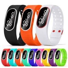 Fashion Unisex Women Man Boy Girl LED Sports Running Watch Date Casual Rubber Bracelet Digital Wrist Watch relogio wholesale