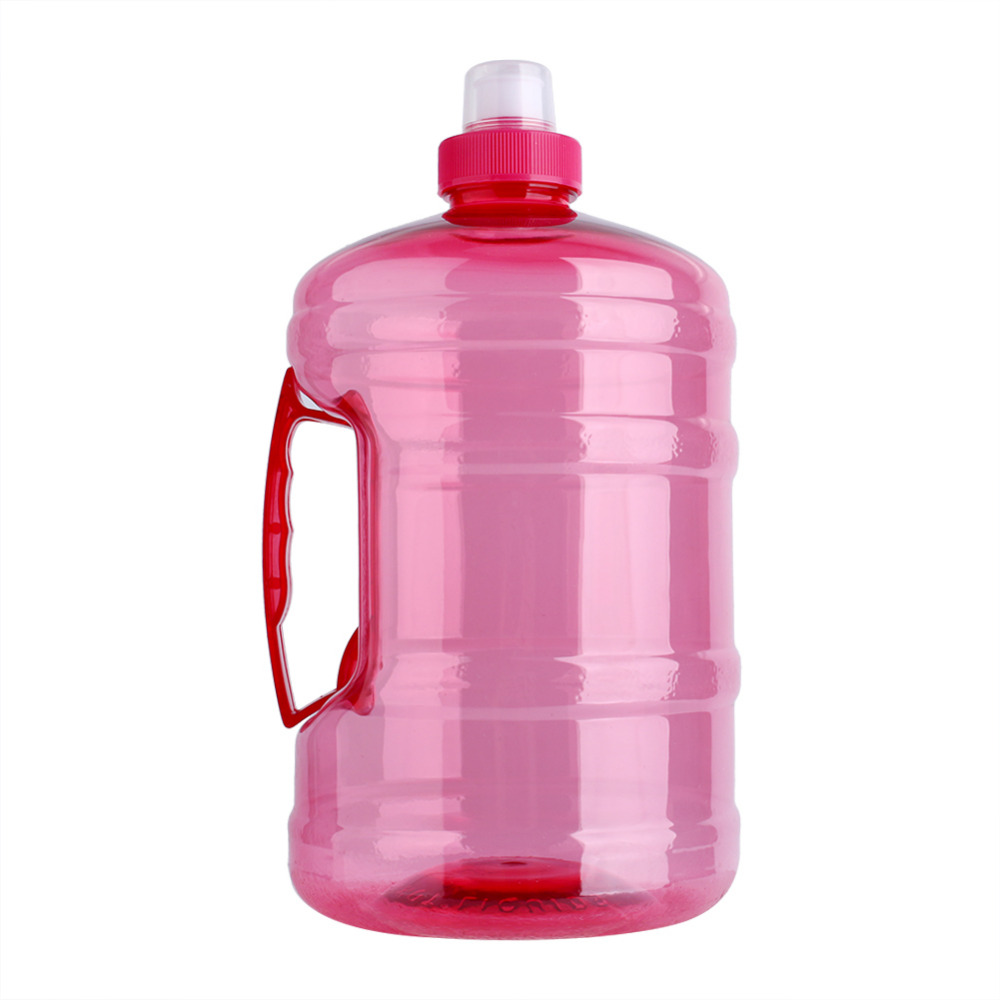 New 1L/2L Big Size Large Capacity Water Bags Sports Cap Outdoor Travel Drink Kettle with Cap Gym Training Party Blue/ Red