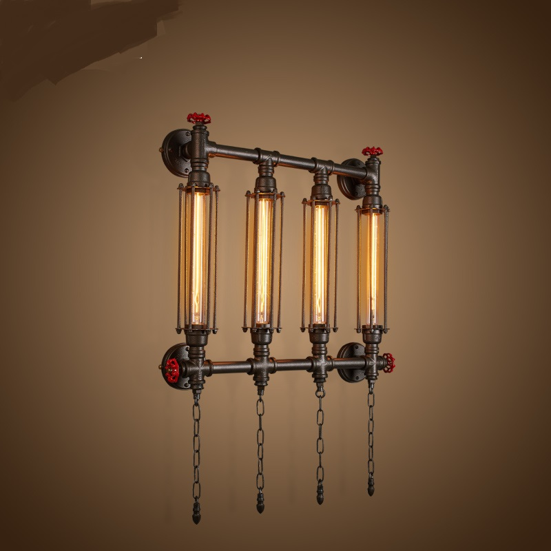 Nordic living room wrought iron retro cafe bedroom restaurant bar industria wind creative personality water pipe wall lamp lo891 nordic living room wrought iron retro cafe bedroom restaurant bar industria wind creative personality water pipe wall lamp lo891