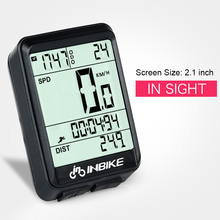 INBIKE Bicycle Computer Wireless MTB Bike Cycling Odometer Rainproof Stopwatch Speedometer Watch LED Digital Backlight недорого