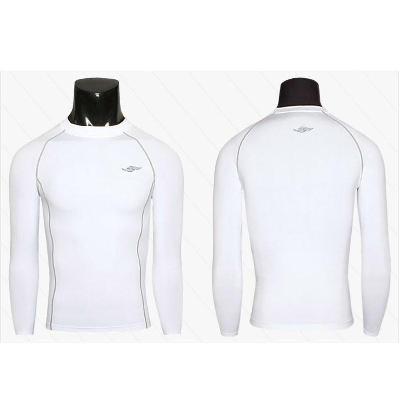 3 Farbe Wolke Marke Mens Compression T-Shirts Base Layers Langarm - Herrenbekleidung - Foto 6