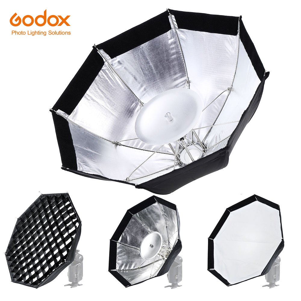 Godox AD-S7 Multifunctional Soft Box Octagonal Honeycomb Grid Umbrella Softbox For WITSTRO Flash Speedlite AD200 AD180 AD360II