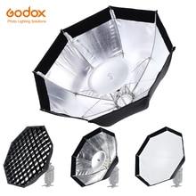 Godox AD S7 caja blanda multifuncional octogonal panal rejilla paraguas Softbox para WITSTRO Flash Speedlite AD200 AD180 AD360II