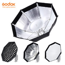 Godox AD-S7 boîte souple multifonctionnelle octogonale nid d'abeille grille parapluie Softbox pour WITSTRO Flash Speedlite AD200 AD180 AD360II(China)
