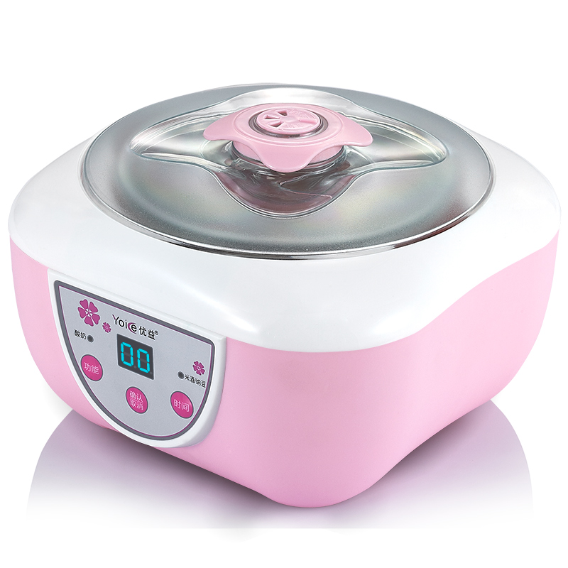 Household Yogurt Maker DIY for Childern Automatic Natto Rice Wine Yogurt Machine with Stainless Steel Sub-cup Free Shipping hot selling electric yogurt machine stainless steel liner mini automatic yogurt maker 1l capacity 220v
