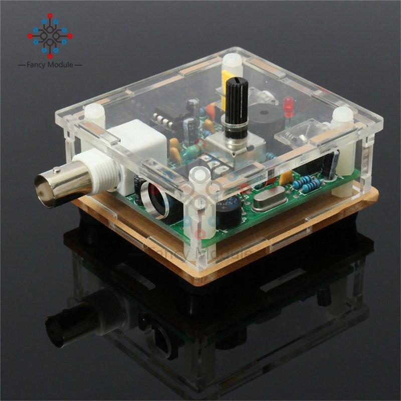S-PIXIE CW QRP Shortwave Ham Amateur Radio Transceiver 7.023MHz DIY Kits With Case DIY Kit