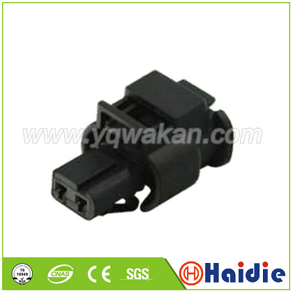 Free Shipping 2sets 2pin VW Camshaft Solenoid Valve Plug Auto Waterproof Cable Connector 8J0973202