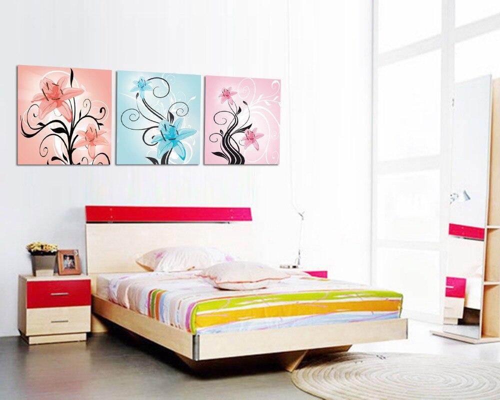 cuadros decoracion unidades lienzo cuadro abstracto de arte de dibujo decoracin de pared cabecero dormitorio decoracione