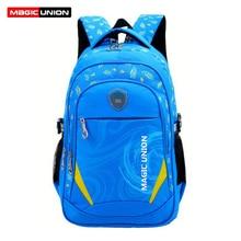 MAGIC UNION 2017 New Children School Bag Alleviate Burdens Unisex Kids Backpack Casual Bags Backpacks For