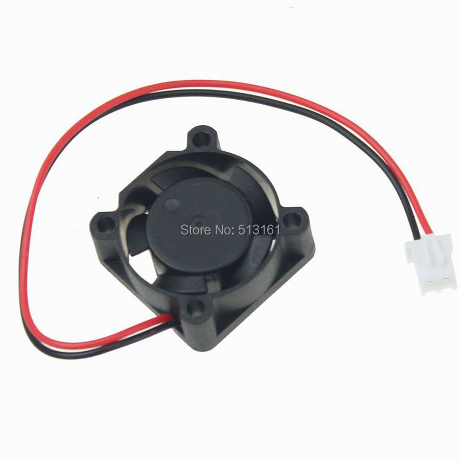 50pcs lot Gdstime 2510 12V XH2 54 2Pin 2 5CM 25mm 25x25x10mm 5 Blades DC Mini Brushless Cooling Fan in Fans Cooling from Computer Office