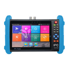IPC9800Plus 7″ IP CCTV Tester Monitor IP Analog Camera Tester H.265 4K Video Testing Support ONVIF Wifi POE Android System