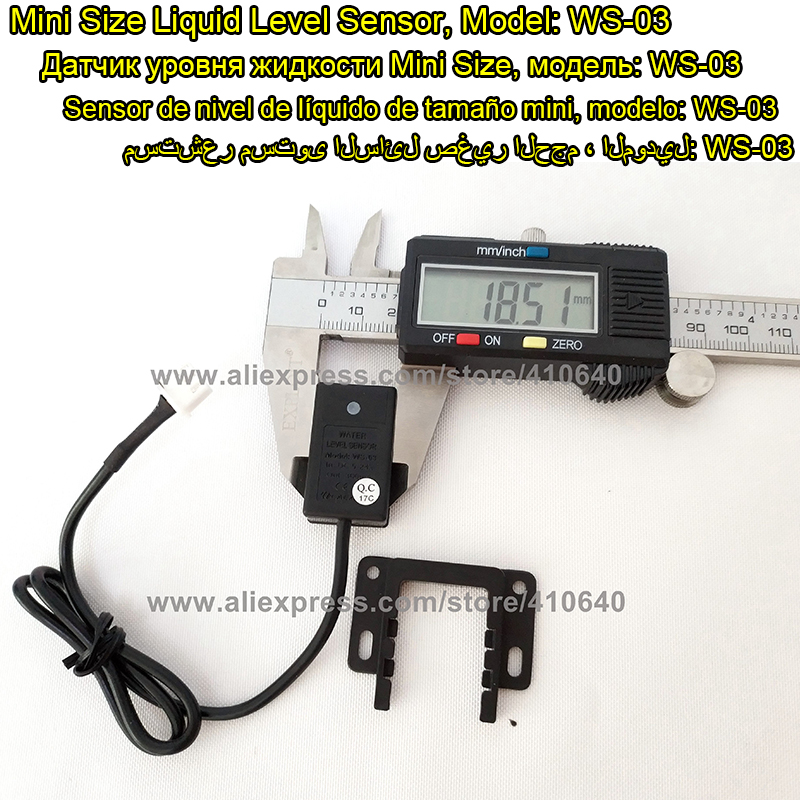 1 Piece Pipe Liquid Level Sensor Contactless Level Sensor Specially For Pipe Put it Onto Wall of Pipe to Know Level of Liquid