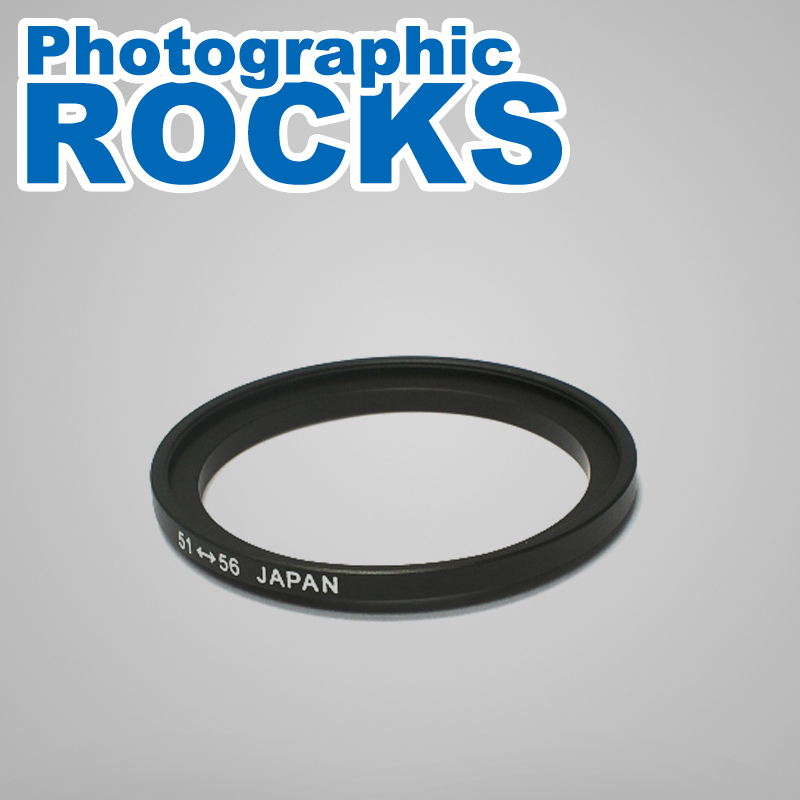 Pixco Lens Filter Adapter Ring Suit For 51mm to 56mm Step Up 51-56mm Ring
