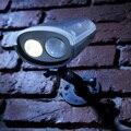 Nueva solar al aire libre lámparas de luz inalámbrico de seguridad inalámbrica de energía solar motion sensor pir activado iluminación marca