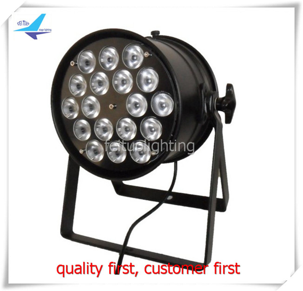 free shipping 8pcs/ lot 18X10W Par Can 4in1 RGBW Stage Wash Par Light New DMX Colorful Effect Lights for Disco Party Show free shipping 6pcs lot wash disco dj led stage par can light stand indoor par rgbw 54x3w wash lamp for party christmas