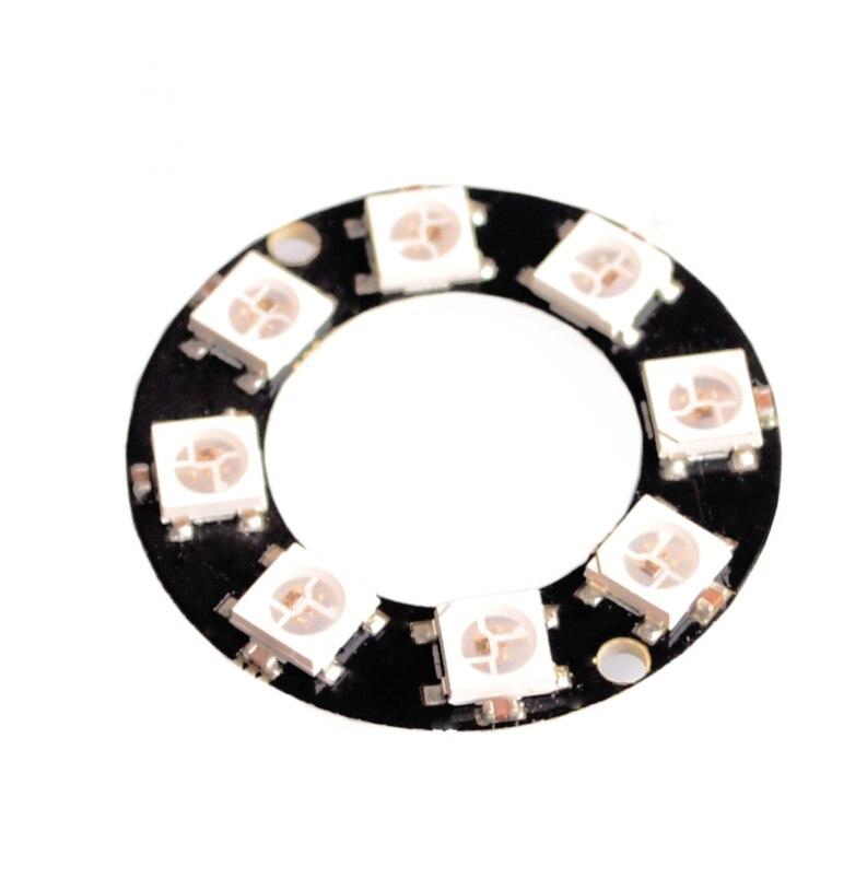 Anillo LED WS2812, 8 bits, RGB, 5050, controlador RGB incorporado, preciso