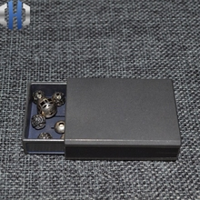 Titanium Matchbox Storage Box Glossy Simple Wind High-grade Tobacco Plays Compact EDC