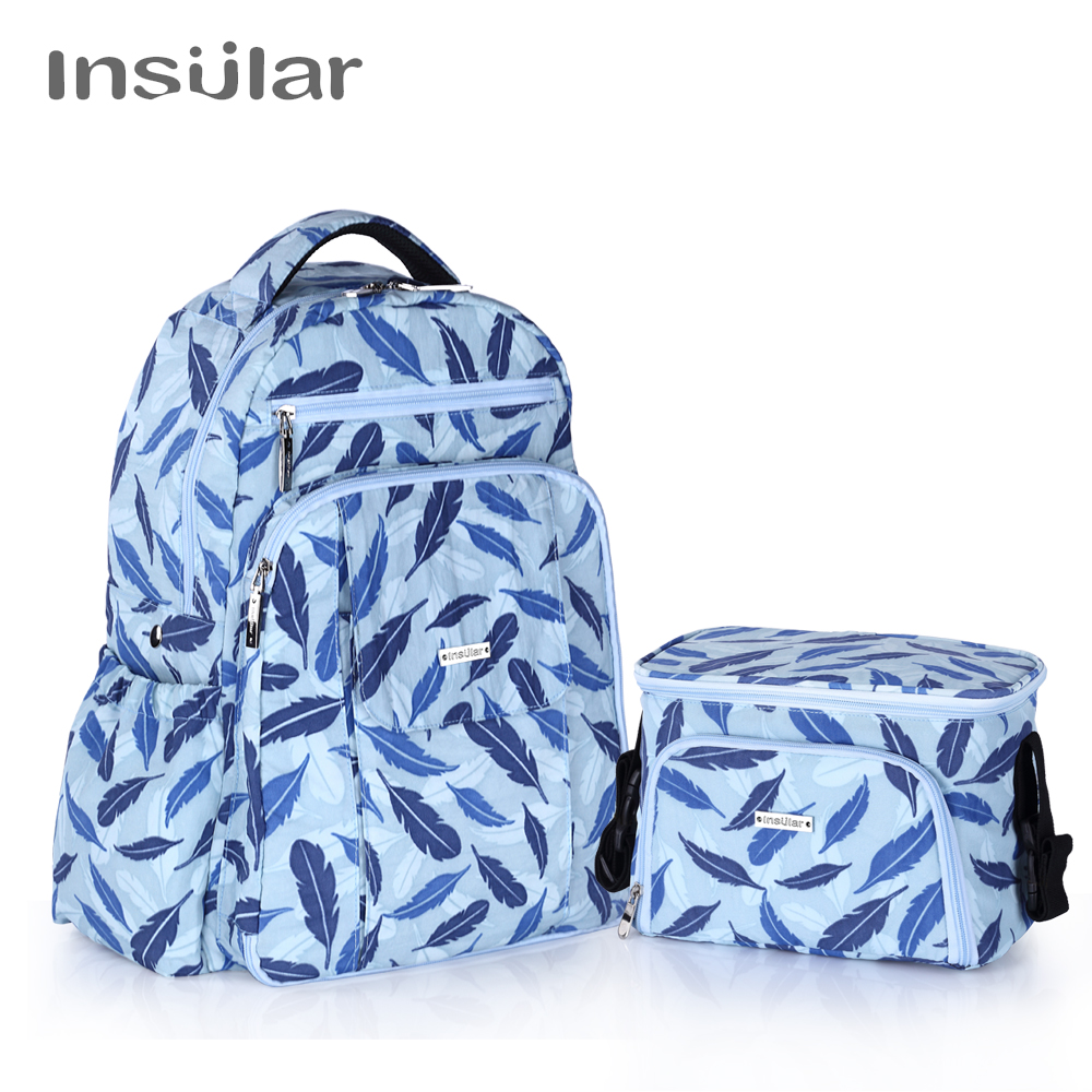 Maternity Diaper Bags 2018 Woman Backpack Fashion Multifunction package Large Capacity Zipper Nylon Solid Backpack Baby Package