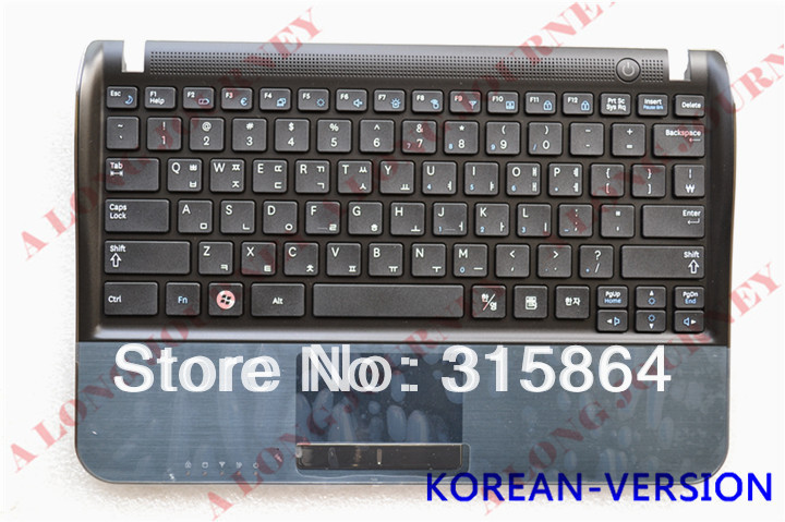 NEW Keyboard for Samsung NF210 NP-NF210 NP-NF310 NF310 NF110 Keyboard with Frame Palmrest Touchpad US/KOREAN/BR VERSION