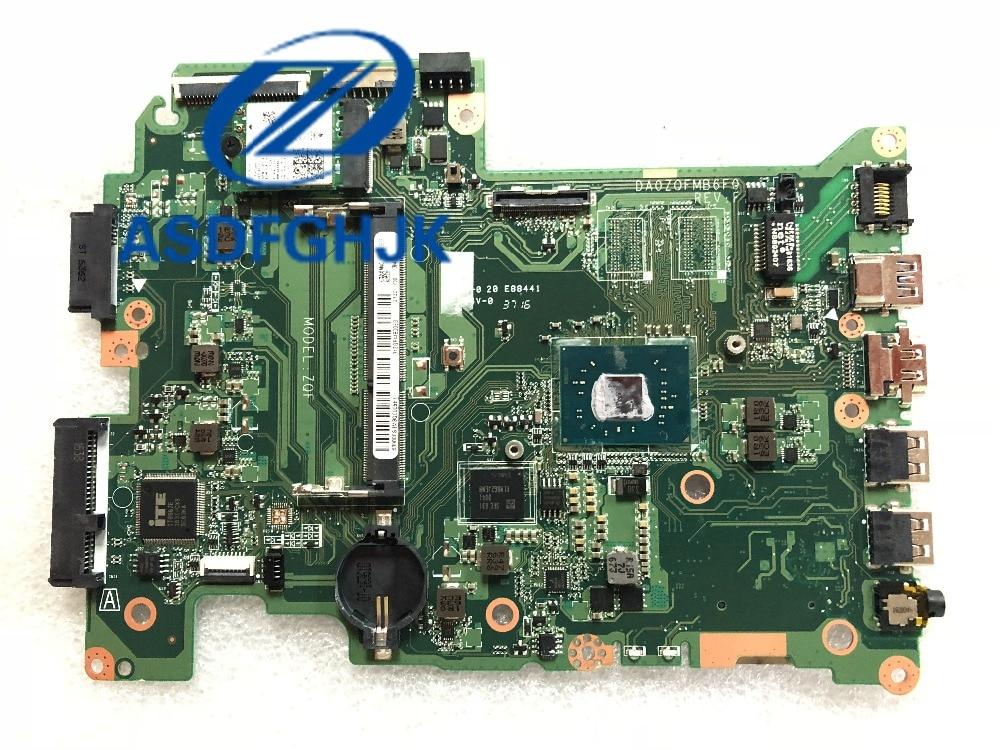 0 Für Acer Für Aspire Es1-43 Laptop Motherboard Da0zqfmb6f0 Celeron N3350 Ddr3l Hd Graphics 100% Getestet Ok