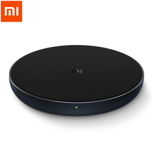 Original Xiaomi Wireless Charger Qi Smart Quick Charge Fast Charger 7.5W for Mi MIX 2S iPhone X XR XS 8 plus 10W For Sumsung S9