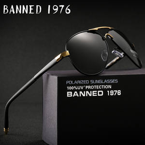 a9a9c9d60e6 BANNED 1976 2018 HD Polarized men s Sunglasses Sun Glasses