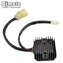 Bjmoto Motorcycle 12V Voltage Regulator Rectifier For Honda XRV750 Africa Twin 1990 1991 1992 Replacement With heat sink fins ams1117 5 0v linear voltage regulator w heat sink black silver