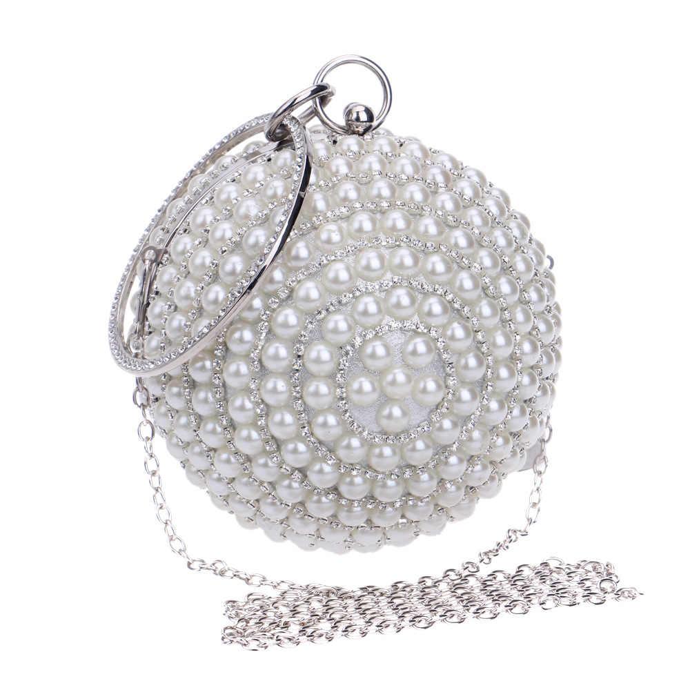 Роскошная обувь с украшением в виде кристаллов вечерняя сумочка; BS010 ручной работы Стиль Стразы Перл Для женщин вечерняя сумочка; BS010 s атласная повелительница вечерние свадебные клатчи кошельки