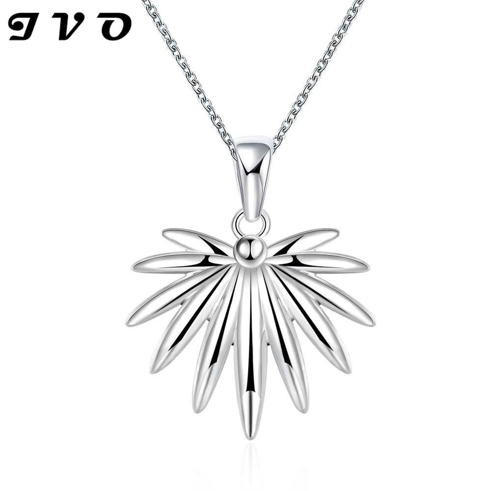 Top Design Idea Plant Maple Leaf Pendant For Women Hot Brand New Fashion  Popular 18inch Chain