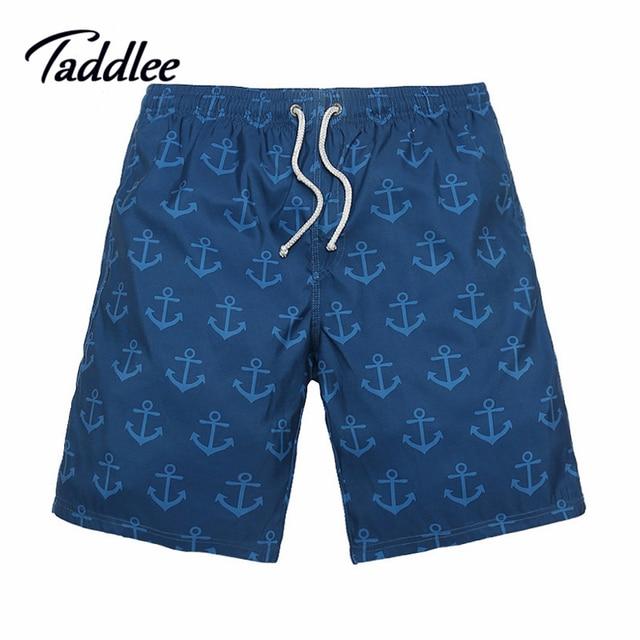 Taddlee Brand Men Beach Board Shorts Quick Dry Boxers Trunks Men Swimwear Swimsuits Active Bermudas Man Jogger Bottoms XXXL Size