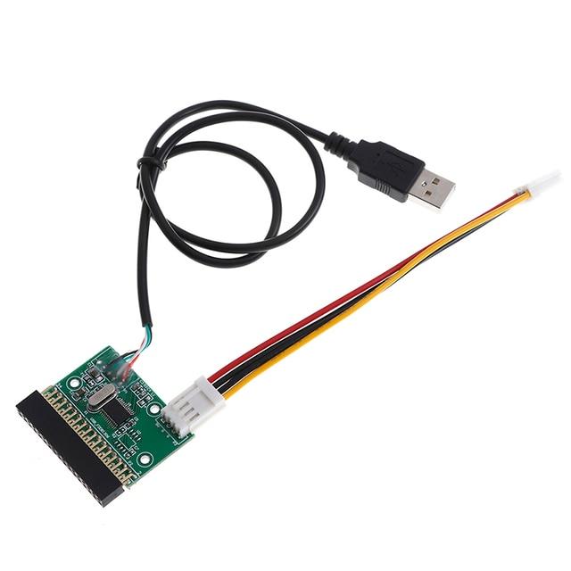 Adaptador de interface, cabo usb para 34pin conversor placa driver u disco para placa pcb floppy disco