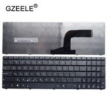 Gzeele RU Клавиатура нового для ASUS A52 A52JC A52JE a52n w90 w90v w90vn W90Vp G51J Русский Клавиатура ноутбука черный значение для деньги!