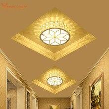 Mini porch ceiling light Super Bright LED Ceiling Lamp Aisle Corridor lighting fixture AC110-240V