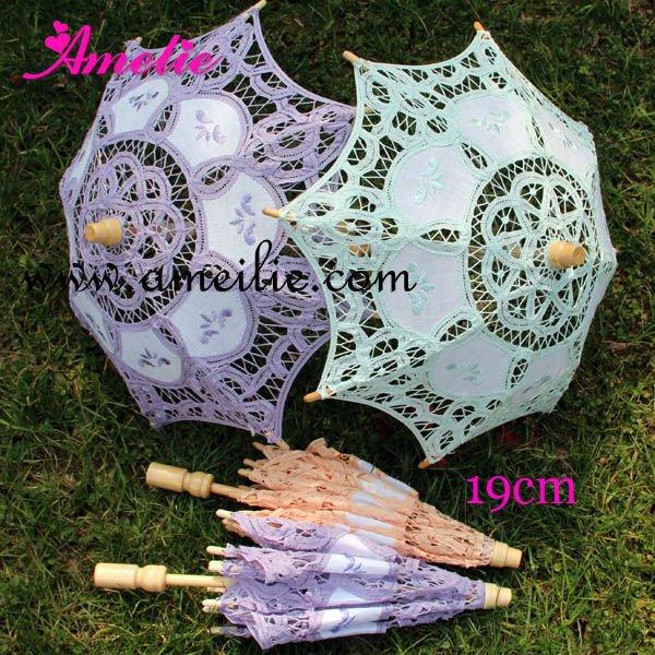 Factory direct wholesale Radius 19cm Assorted colors mixed Kids' parasols