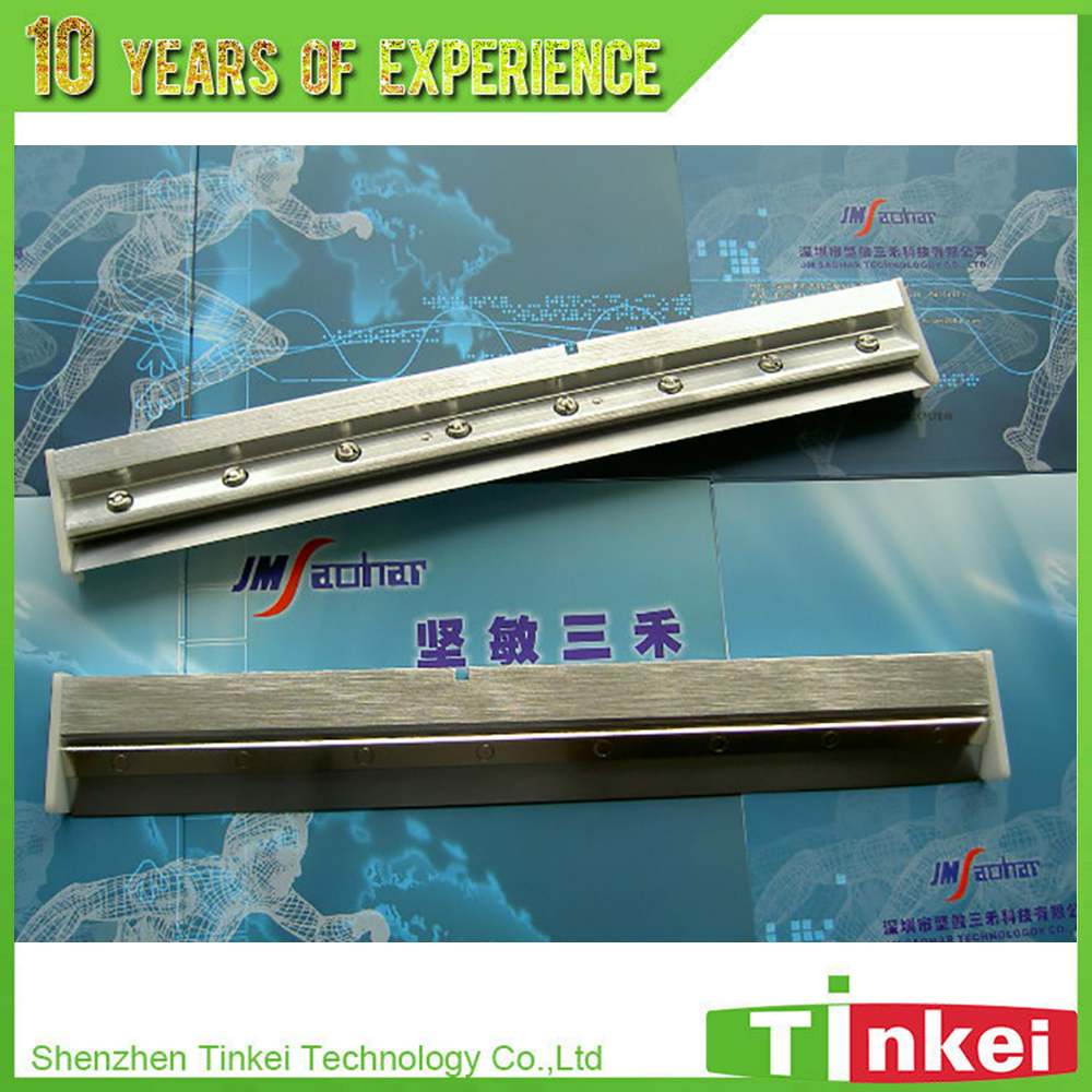 DEK stencil printer 170-585mm 60 45 degree squeegee holder dek 193199 193202 193205 300 400 520mm clean rubber squeegee