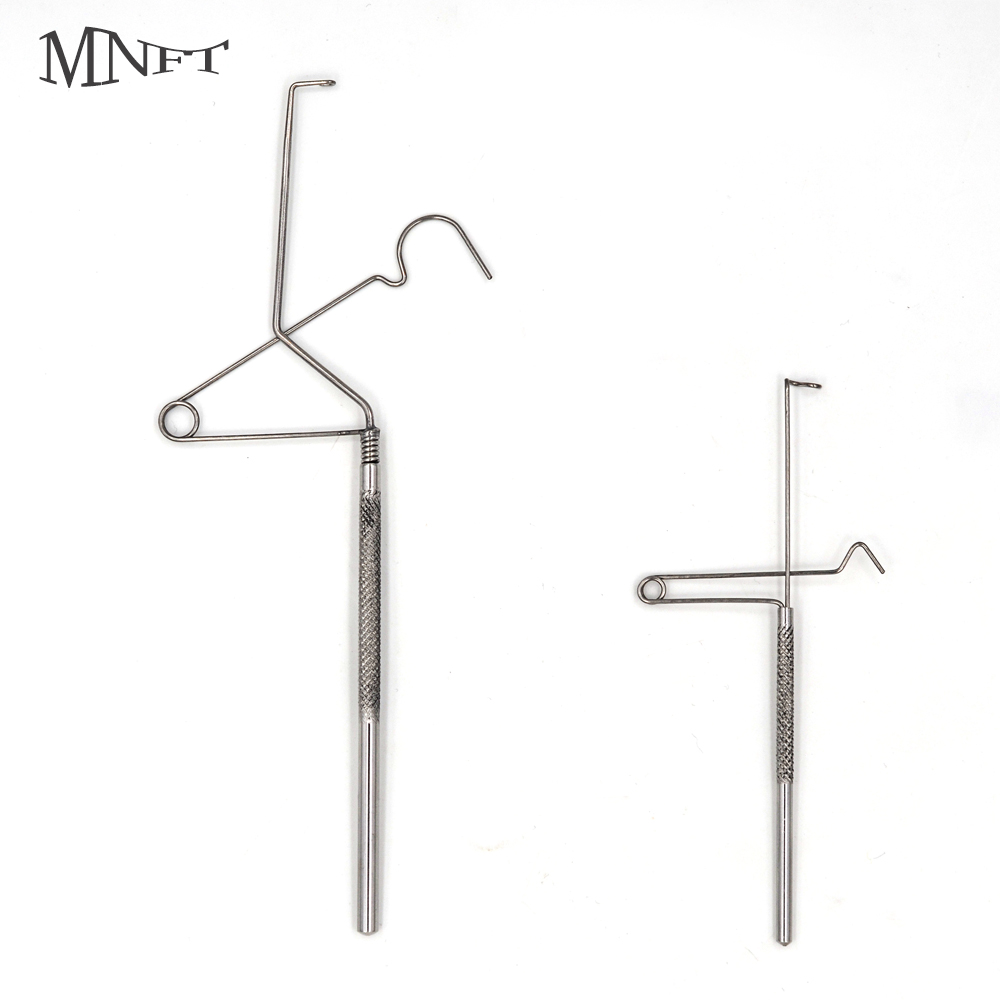 MNFT 1PCS Stainless Steel Handle Whip Finisher Standard Tool For Fly Tying/Tying Flies Knotting Fishing Accessories Supplies