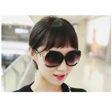 New Fashion Elegant Sunglasses Personality Korean Double Circle Women