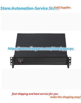 1U Chassis + Power Pack 1U Short Chassis Deep Aluminum Panel Firewall Case