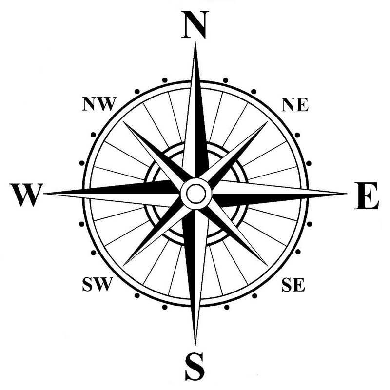 Detail Feedback Questions About Compass Vinyl Decal Sticker Car Boat