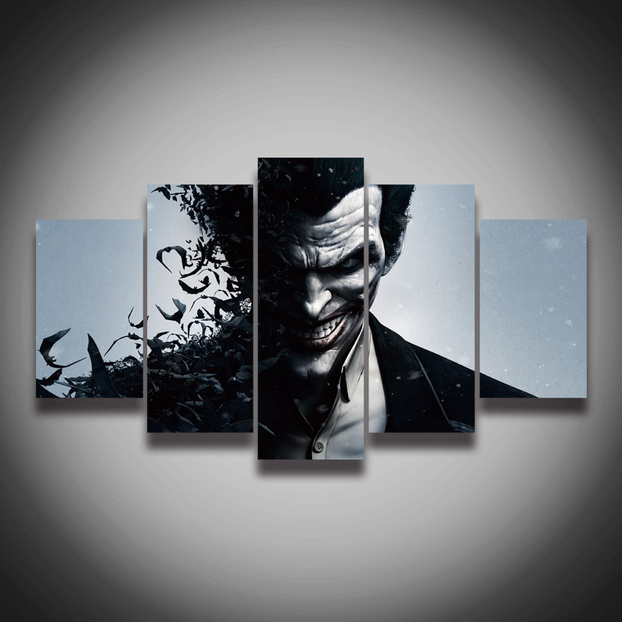 Framed Art High Quality Printed Picture Joker Painting