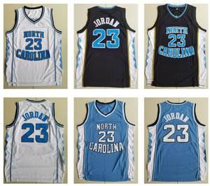 92b0ad6c6 Retro North Carolina Tar Heels 23 Michael Jordan Basketball Jerseys  Throwback Lower Merrion 33 Brant Kobe High School Jersey