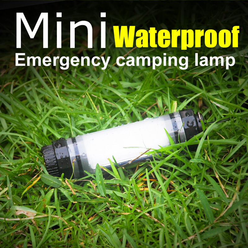 UY-Q7M Q7M Outdoor LED Camping Light IP68 Professional Waterproof Lamp 2600mAh Power Bank For Phone Portable Lanterns For Hiking